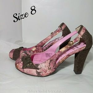 🌼Not Rated🌼Wedge Heeled Shoes Size 8